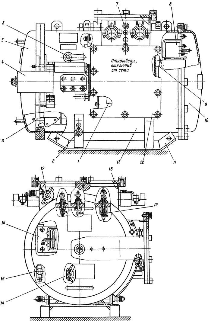 Шахтный пусковой агрегат АПШ-1