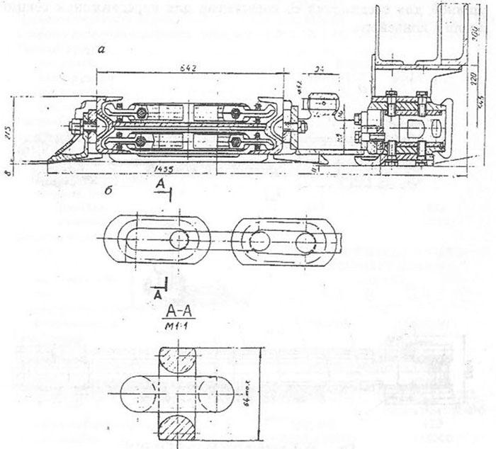 скребковый конвейер сп87пм