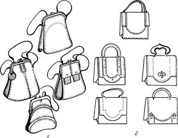 Эскизы сумок своими руками 24