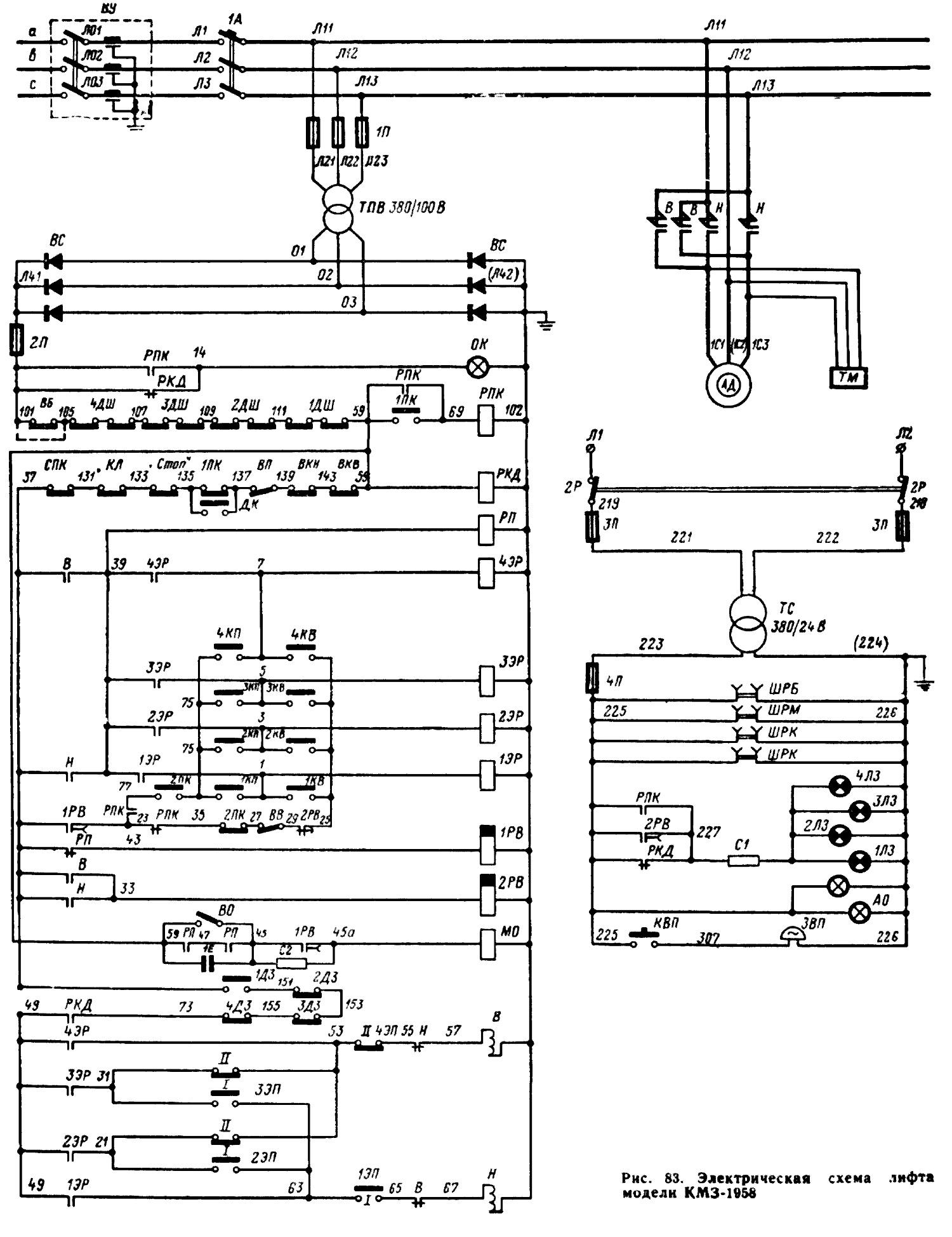 Лифты схемы монтажные схемы