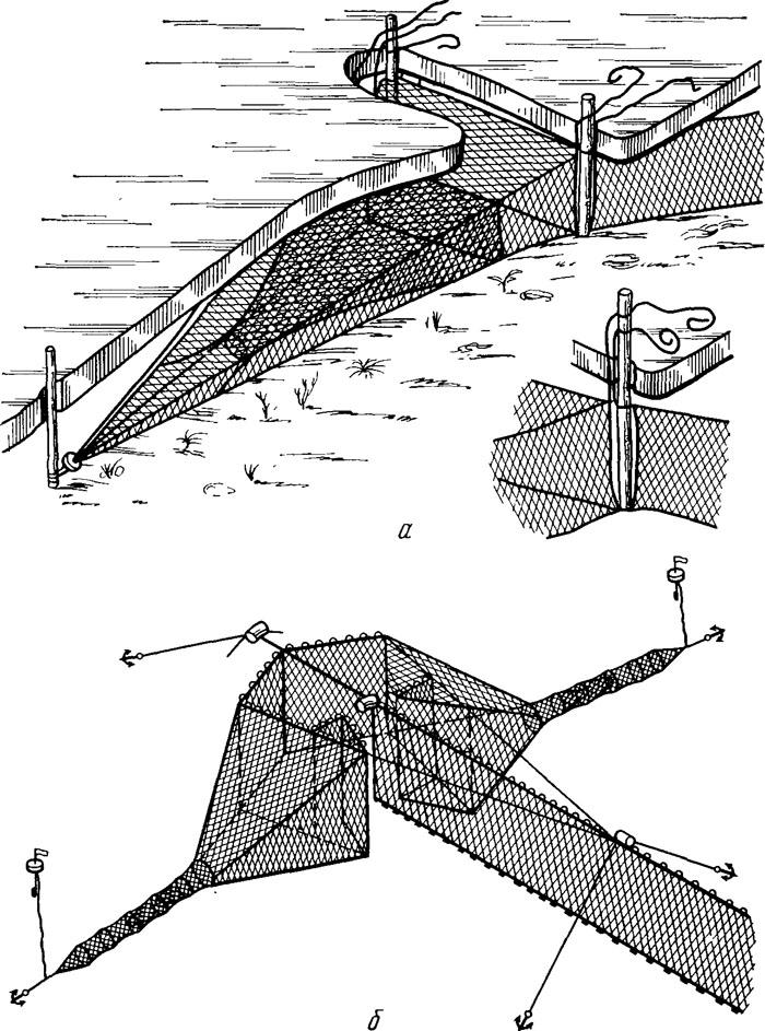 Ставные невода установка схема 139