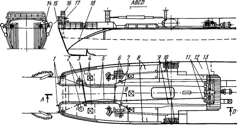 Рис. 74. Схема промыслового