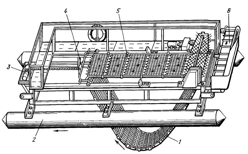 Схема косилки конструкции НПО
