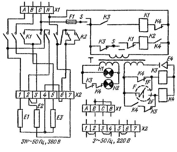 Схема подключения кпэ 160