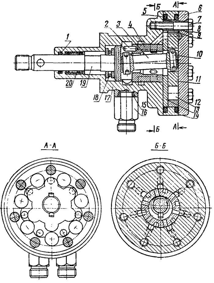 Насос-дозатор гидрообъемного