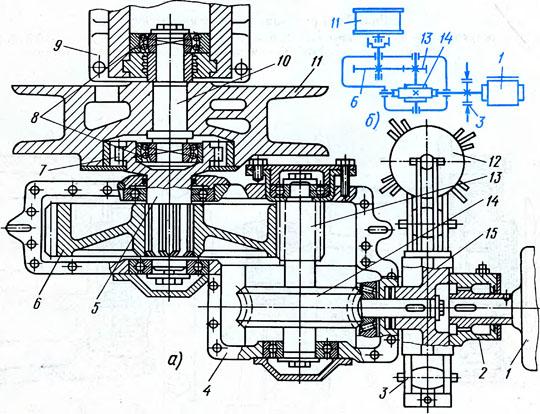 лебедка крана КС-4561А (а)