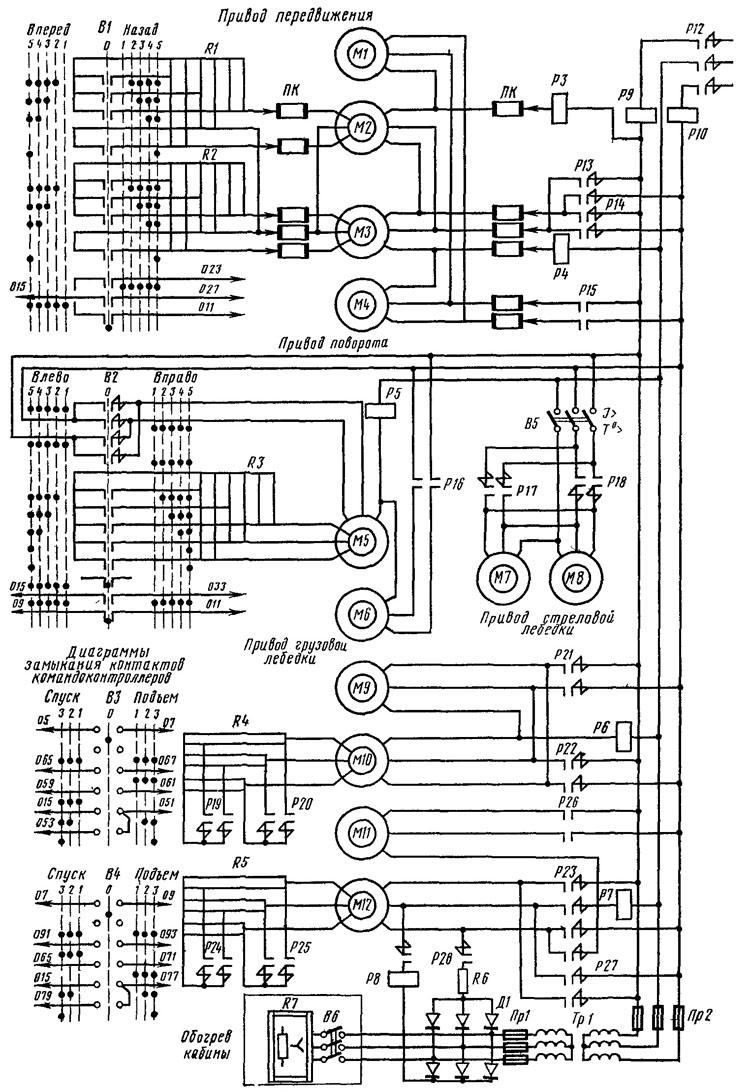 Электрическая схема кдэ