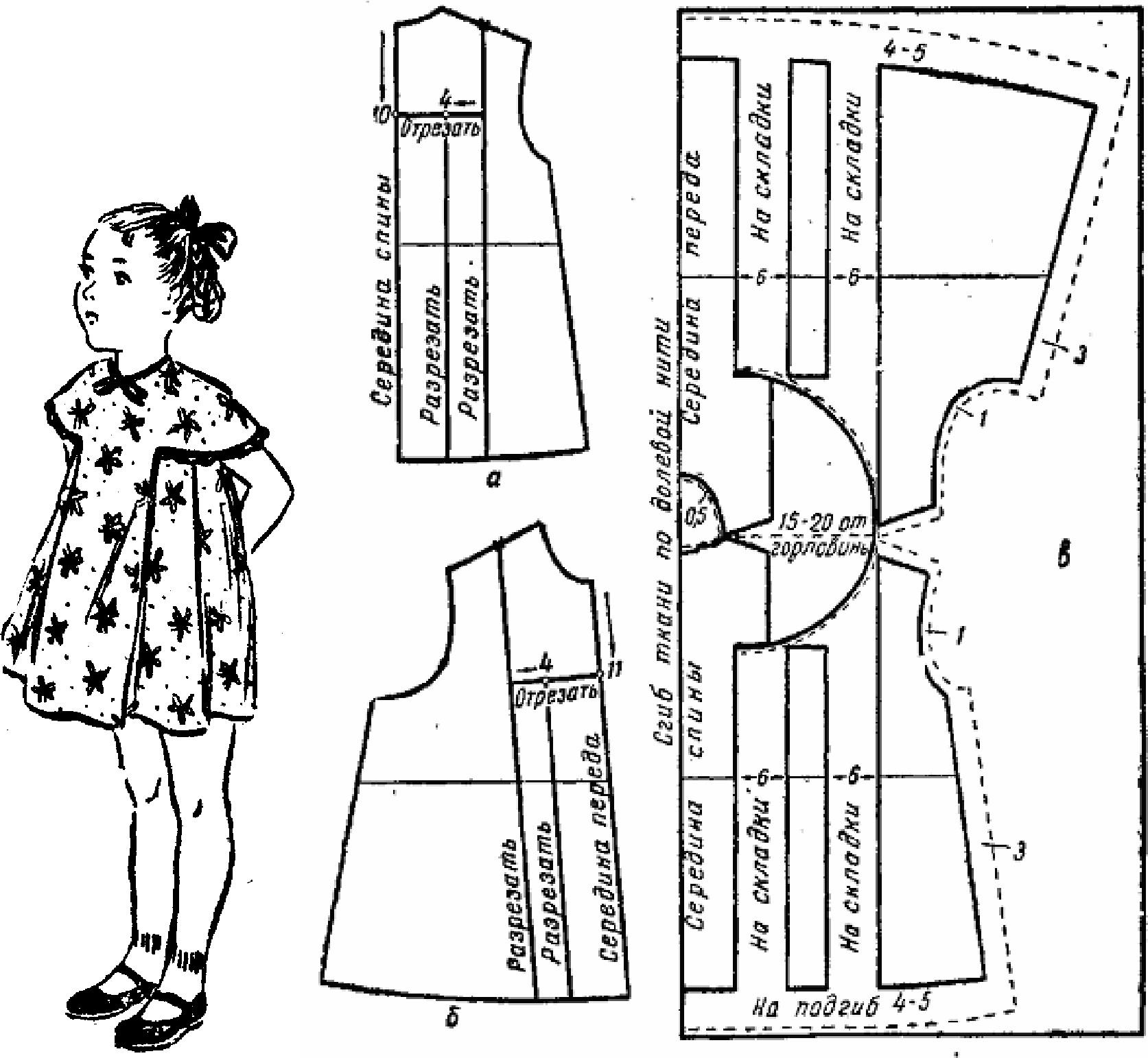 Детские платья сшить самим быстро и просто. Часть 1 82
