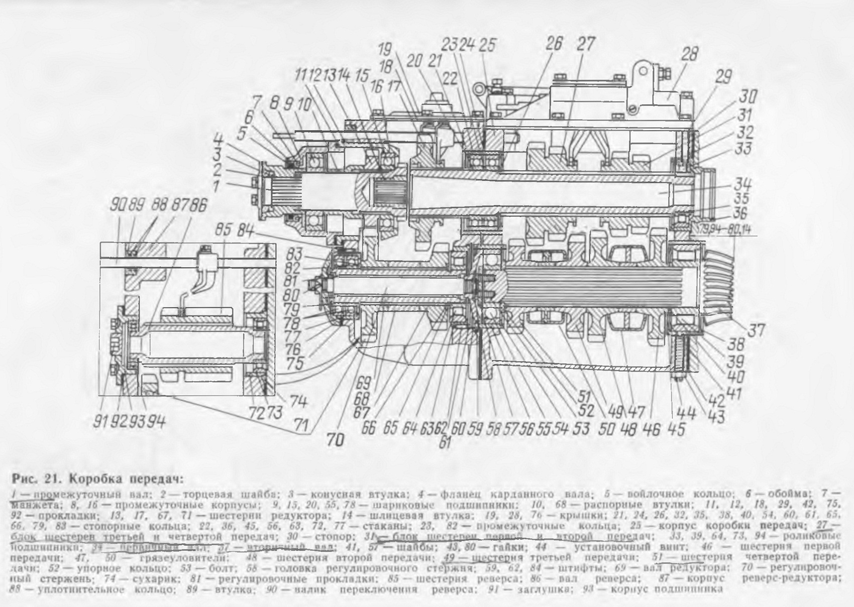 Схема коробки передач трактора фото 761