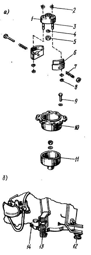регулировка центробежного сцепления на лодочном моторе