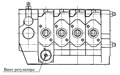 Устройство трактора к 744