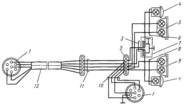 Схема электрооборудования: