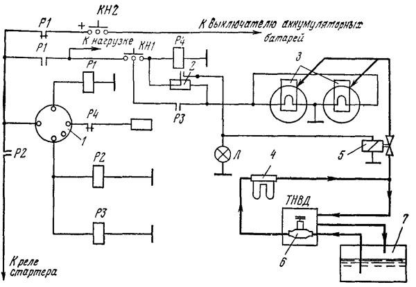 Схема подключения и работы