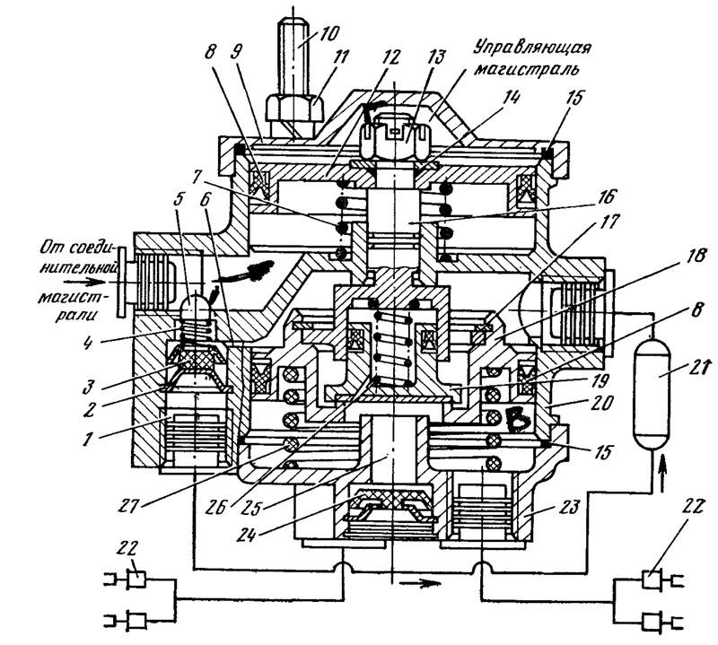 Схема подключения крана 11.3531010-80