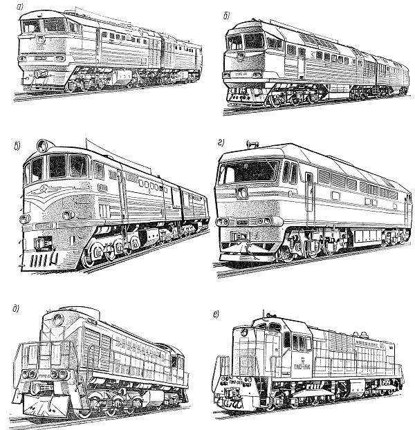 Картинки локомотивов и поездов раскраски