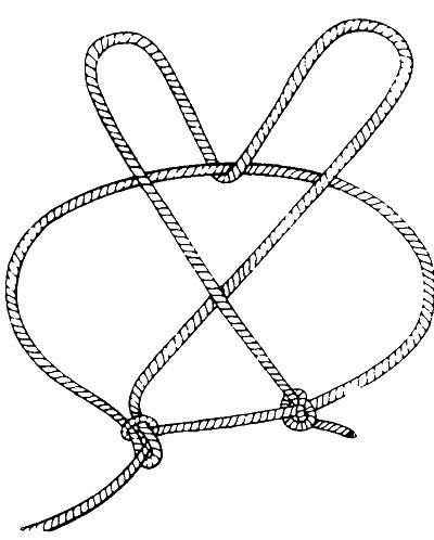 Как сделать обвязку из верёвки 711