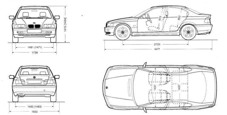 2.0 Organy sterowania i techniki obsługi BMW 3 (E46)