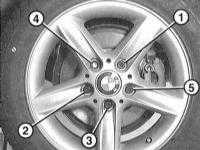 3.20 Rotacja i wymiana kół BMW 3 (E46)