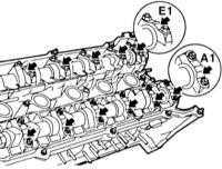4.1.6 Wymontowanie i zamontowanie wałków rozrządu BMW 3 (E46)