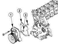 5.1.9 Wymontowanie i zamontowanie pompy płynu chłodzącego BMW 3 (E46)