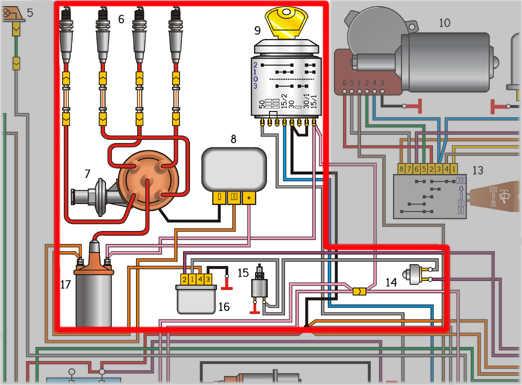 Схема подключения проводки газ 3110