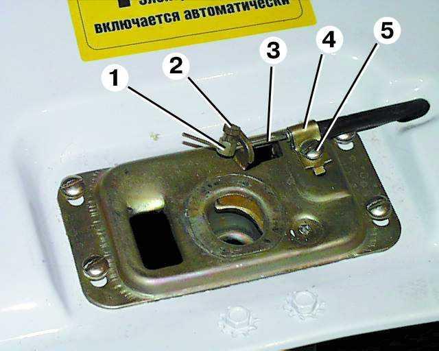 установка ручки открывания капота газ 3110 термобелье