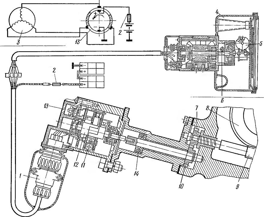 Камаз схема электрооборудования спидометра