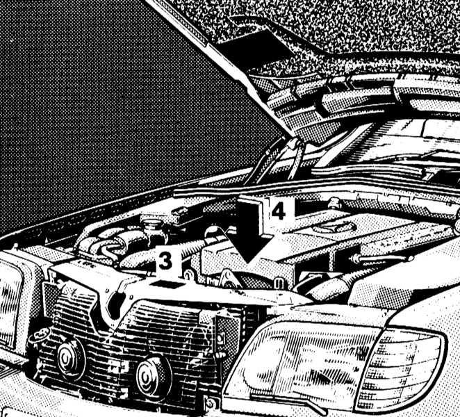 1.2 Идентификационные номера автомобиля Mercedes-Benz W140