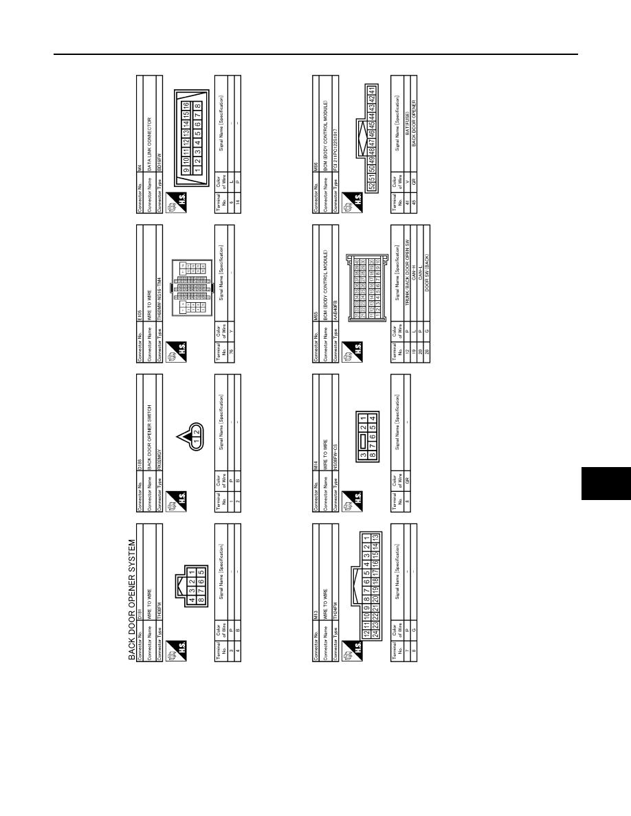 U3072 U3069 U3044 U1000 Can Comm Circuit Nissan