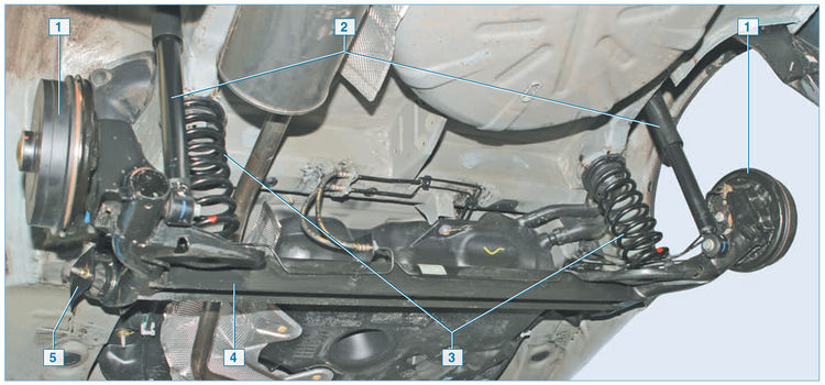 Ремонт подвеску рено логан