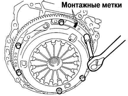 Снятие и разбор муфты сцепления ПД П-23У ← Разбор и сборка.