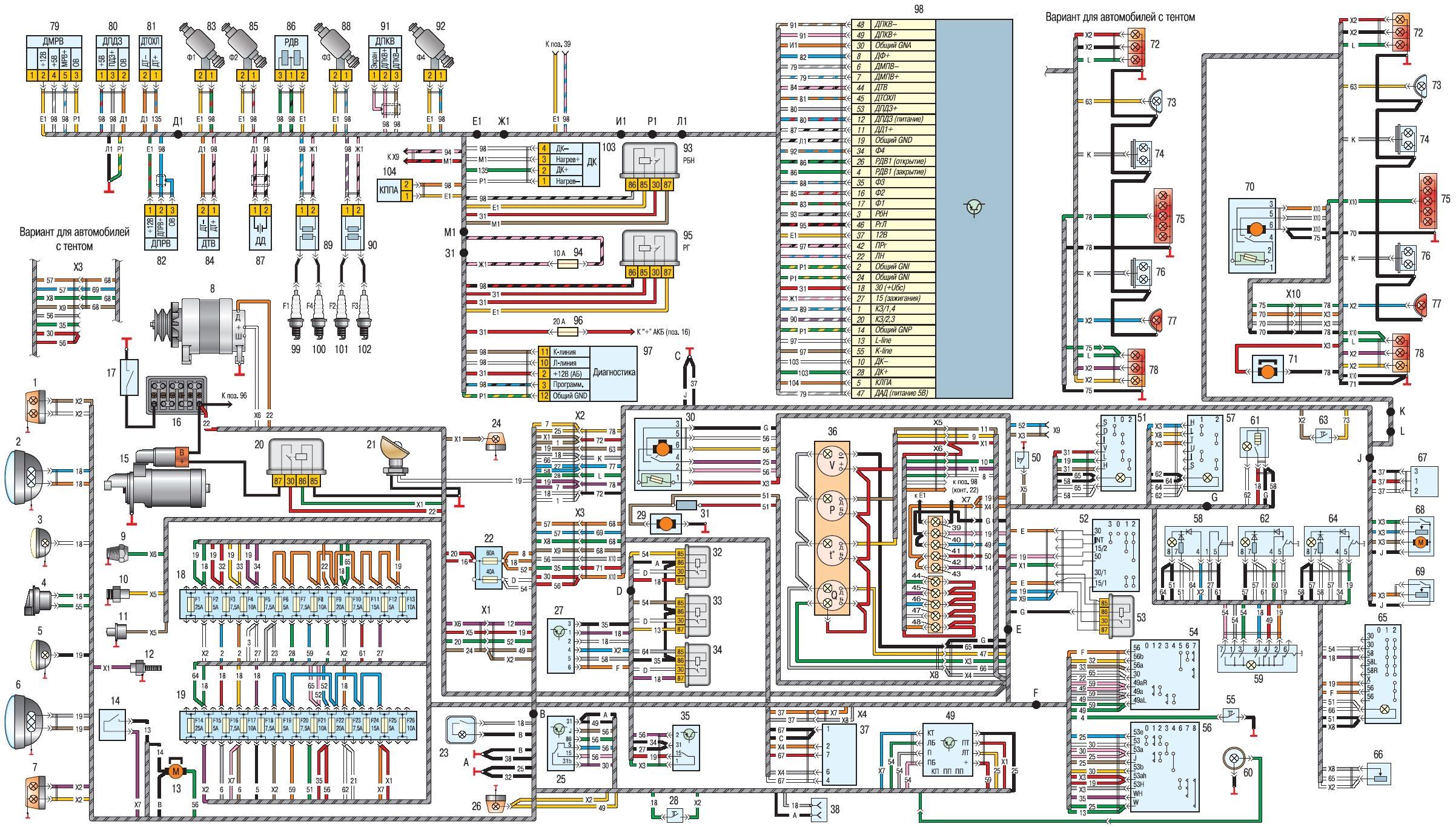 руководство по ремонту уаз хантер 315195 инжектор