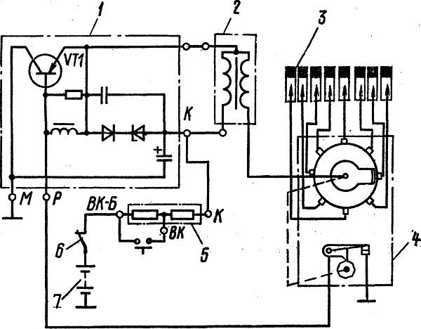Все схемы электронного зажигания на зил